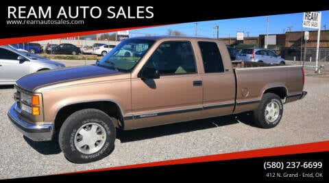 1997 GMC Sierra 1500 for sale at REAM AUTO SALES in Enid OK