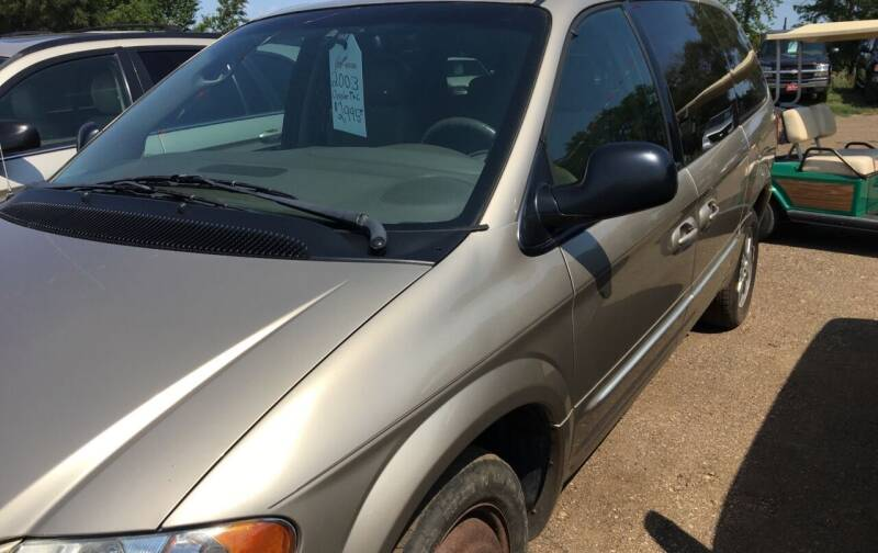 2003 Chrysler Town and Country for sale at BARNES AUTO SALES in Mandan ND