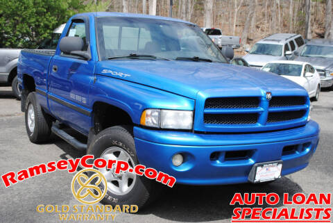 2000 Dodge Ram Pickup 1500 for sale at Ramsey Corp. in West Milford NJ
