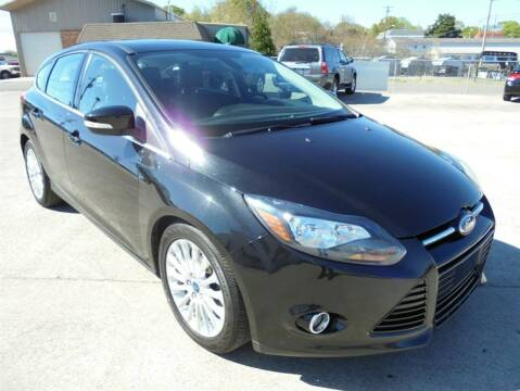 2012 Ford Focus for sale at PIONEER AUTO SALES LLC in Cleveland TN