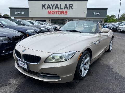 2014 BMW Z4 for sale at KAYALAR MOTORS in Houston TX