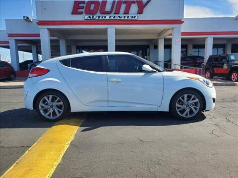 2016 Hyundai Veloster for sale at EQUITY AUTO CENTER in Phoenix AZ