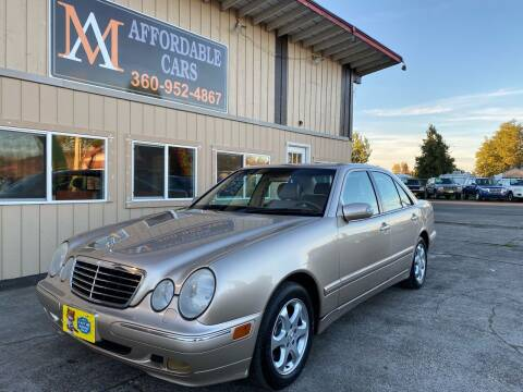 2002 Mercedes-Benz E-Class for sale at M & A Affordable Cars in Vancouver WA