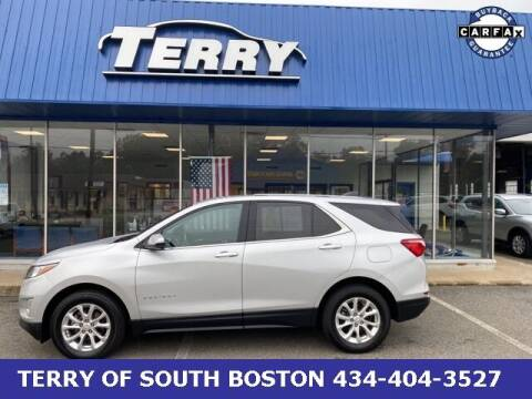 2018 Chevrolet Equinox for sale at Terry of South Boston in South Boston VA