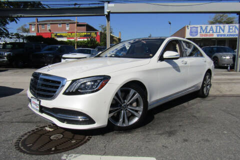 2018 Mercedes-Benz S-Class for sale at MIKEY AUTO INC in Hollis NY