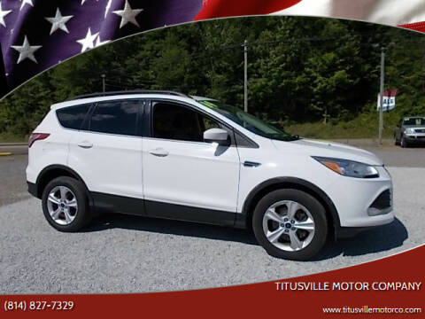 2014 Ford Escape for sale at Titusville Motor Company in Titusville PA