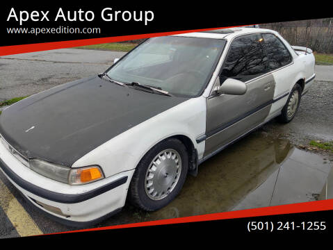 1990 Honda Accord for sale at Apex Auto Group in Cabot AR