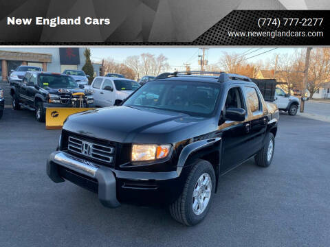 2008 Honda Ridgeline for sale at New England Cars in Attleboro MA
