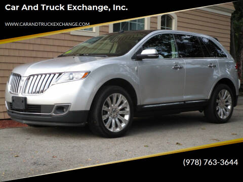 2012 Lincoln MKX for sale at Car and Truck Exchange, Inc. in Rowley MA