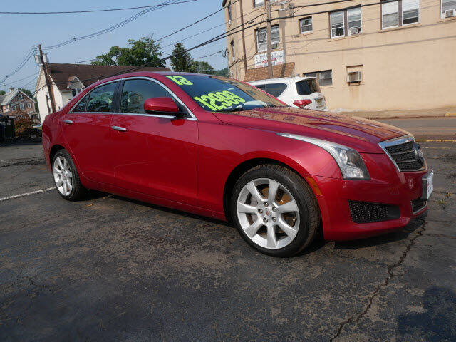 2013 Cadillac ATS for sale at M & R Auto Sales INC. in North Plainfield NJ