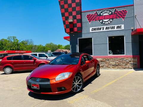 2012 Mitsubishi Eclipse for sale at Chema's Autos & Tires in Tyler TX