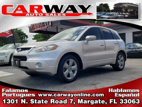 2007 Acura RDX for sale at CARWAY Auto Sales in Margate FL
