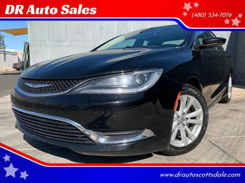 2015 Chrysler 200 for sale at DR Auto Sales in Scottsdale AZ