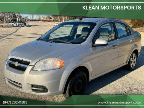 2010 Chevrolet Aveo for sale at Klean Motorsports in Skokie IL