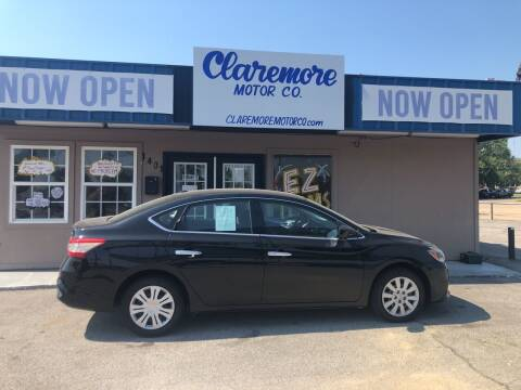 2017 Nissan Sentra for sale at Claremore Motor Company in Claremore OK