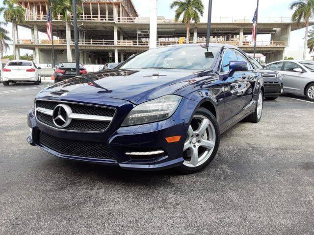 2012 Mercedes-Benz CLS for sale in Hollywood, FL