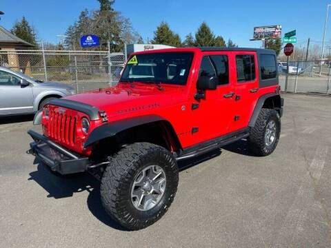 2015 Jeep Wrangler Unlimited for sale at TacomaAutoLoans.com in Lakewood WA