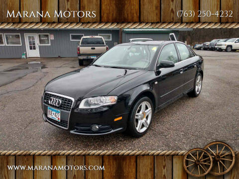 2008 Audi A4 for sale at Marana Motors in Princeton MN