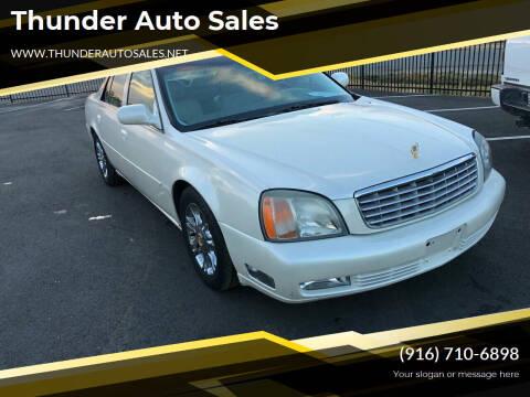 2000 Cadillac DeVille for sale at Thunder Auto Sales in Sacramento CA