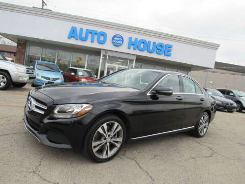 2016 Mercedes-Benz C-Class for sale at Auto House Motors in Downers Grove IL