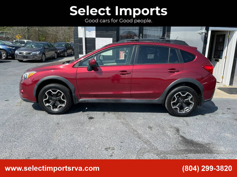 2013 Subaru XV Crosstrek for sale at Select Imports in Ashland VA