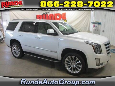 2017 Cadillac Escalade for sale at Runde Chevrolet in East Dubuque IL