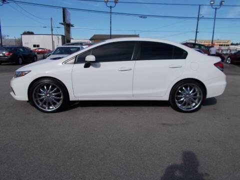 2014 Honda Civic for sale at BMG Auto Group Arlington in Arlington TX