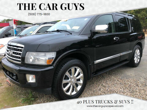2010 Infiniti QX56 for sale at The Car Guys in Hyannis MA