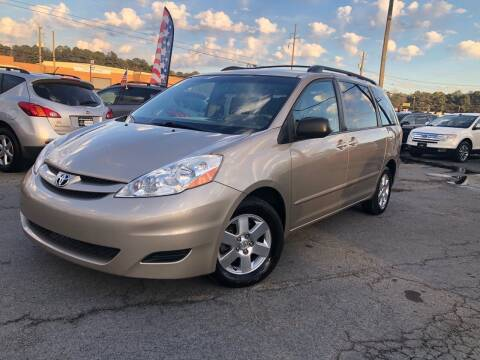 2010 Toyota Sienna for sale at Atlas Auto Sales in Smyrna GA