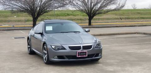 2009 BMW 6 Series for sale at America's Auto Financial in Houston TX