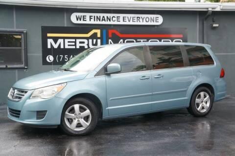 2010 Volkswagen Routan for sale at Meru Motors in Hollywood FL