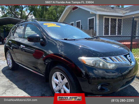 2009 Nissan Murano for sale at Drive Now Motors USA in Tampa FL