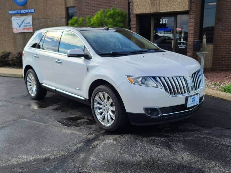 2013 Lincoln MKX for sale at Mighty Motors in Adrian MI