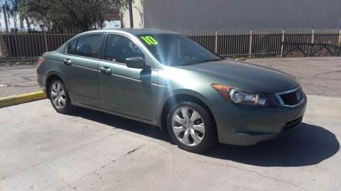 2010 Honda Accord for sale at CAMEL MOTORS in Tucson AZ