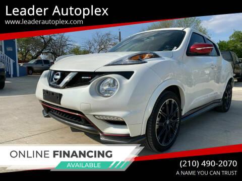 2015 Nissan JUKE for sale at Leader Autoplex in San Antonio TX