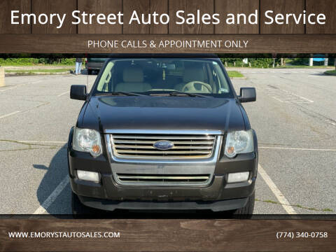 2008 Ford Explorer for sale at Emory Street Auto Sales and Service in Attleboro MA