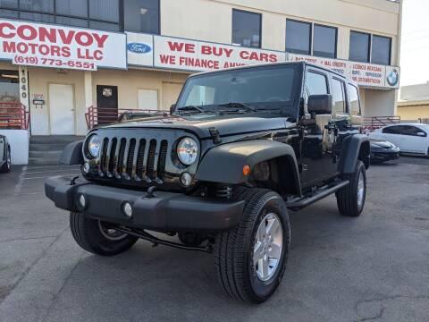 2018 Jeep Wrangler JK Unlimited for sale at Convoy Motors LLC in National City CA