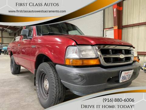 2000 Ford Ranger for sale at Car Source Center in West Sacramento CA