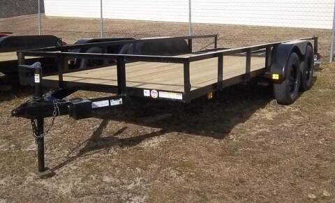 """2021 Triple Crown 6' 4"""" x 16' Utility Trailer for sale at Sanders Motor Company in Goldsboro NC"""