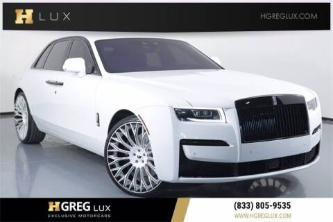 2021 Rolls-Royce Ghost for sale at HGREG LUX EXCLUSIVE MOTORCARS in Pompano Beach FL