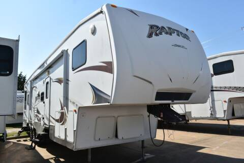 2010 Keystone Raptor 361LEV for sale at Buy Here Pay Here RV in Burleson TX
