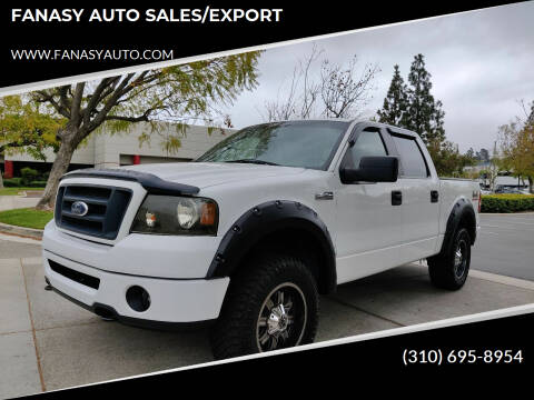 2008 Ford F-150 for sale at FANASY AUTO SALES/EXPORT in Yorba Linda CA