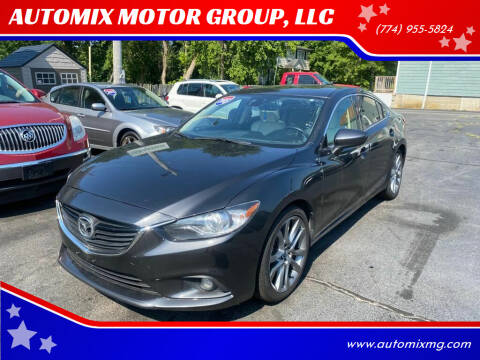 2015 Mazda MAZDA6 for sale at AUTOMIX MOTOR GROUP, LLC in Swansea MA