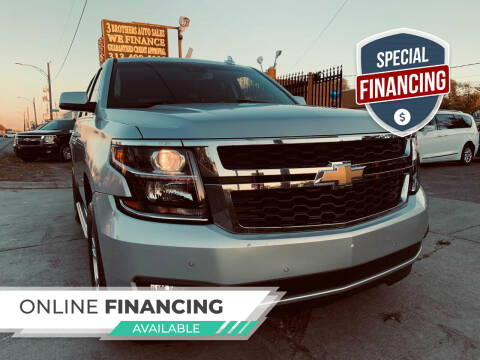 2019 Chevrolet Tahoe for sale at 3 Brothers Auto Sales Inc in Detroit MI