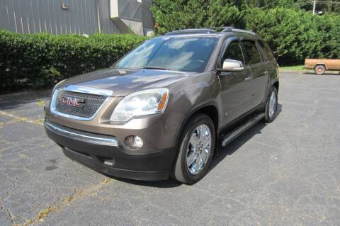 2010 GMC Acadia for sale at Key Auto Center in Marietta GA
