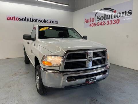 2012 RAM Ram Pickup 2500 for sale at Auto Solutions in Warr Acres OK