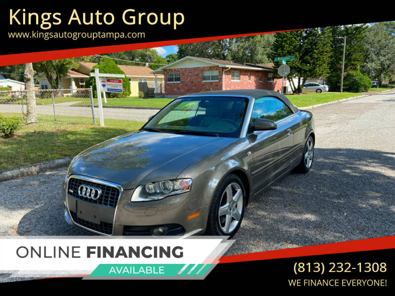 2009 Audi A4 for sale at Kings Auto Group in Tampa FL