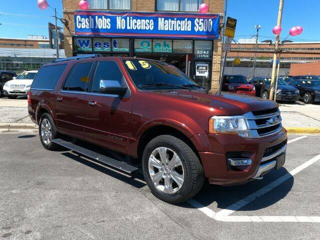 2015 Ford Expedition EL for sale at West Oak in Chicago IL