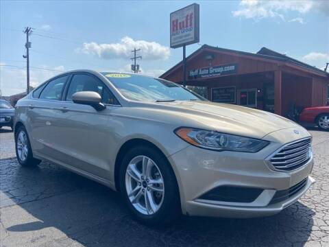 2018 Ford Fusion for sale at HUFF AUTO GROUP in Jackson MI