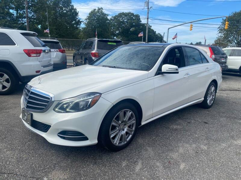 2014 Mercedes-Benz E-Class for sale at American Best Auto Sales in Uniondale NY